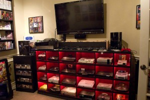 Video Game Room Idea Design Display Collection