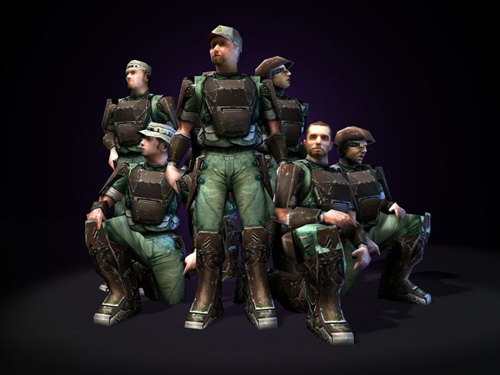 Halo Marines