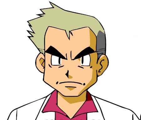 Pokemon Professor Oak