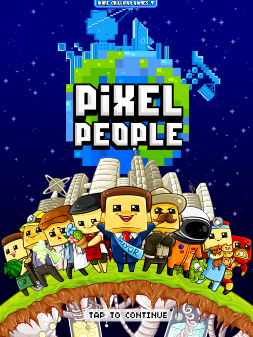 Pixel People – iPad/iPhone Review