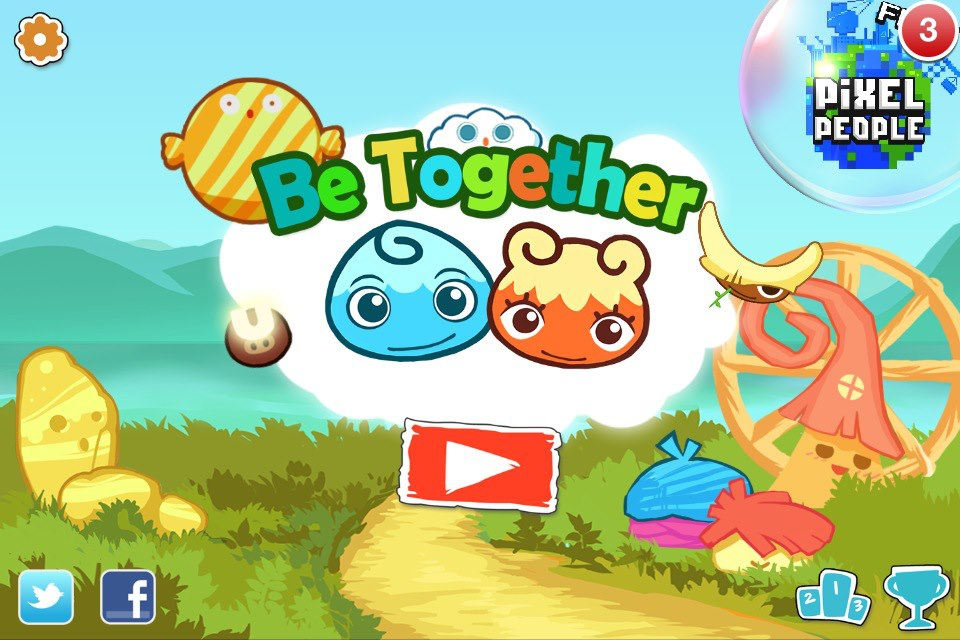 Be Together – The Cutest iOS Puzzle Game Around – iPad/iPhone Review
