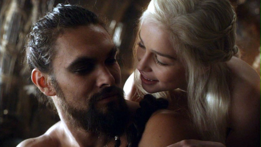 Khal Drogo and Danaerys