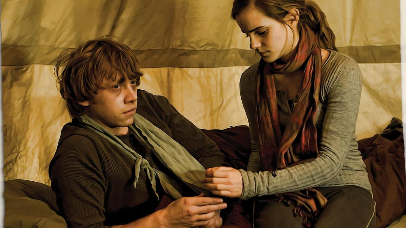 Best fantasy sci fi couples to date - Rone harry potter ...
