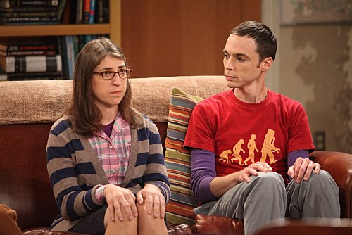 Sheldon Cooper and Amy Ferrah Fowler