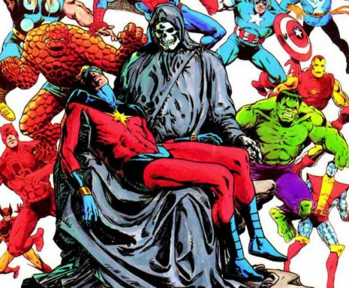The Impermanence Of Death –  The Weird World Of Comics