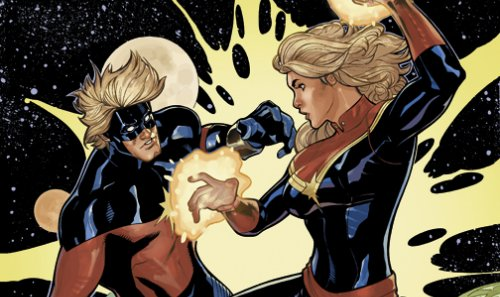 The Curious Case Of Captain Marvel – The Weird World Of Comics