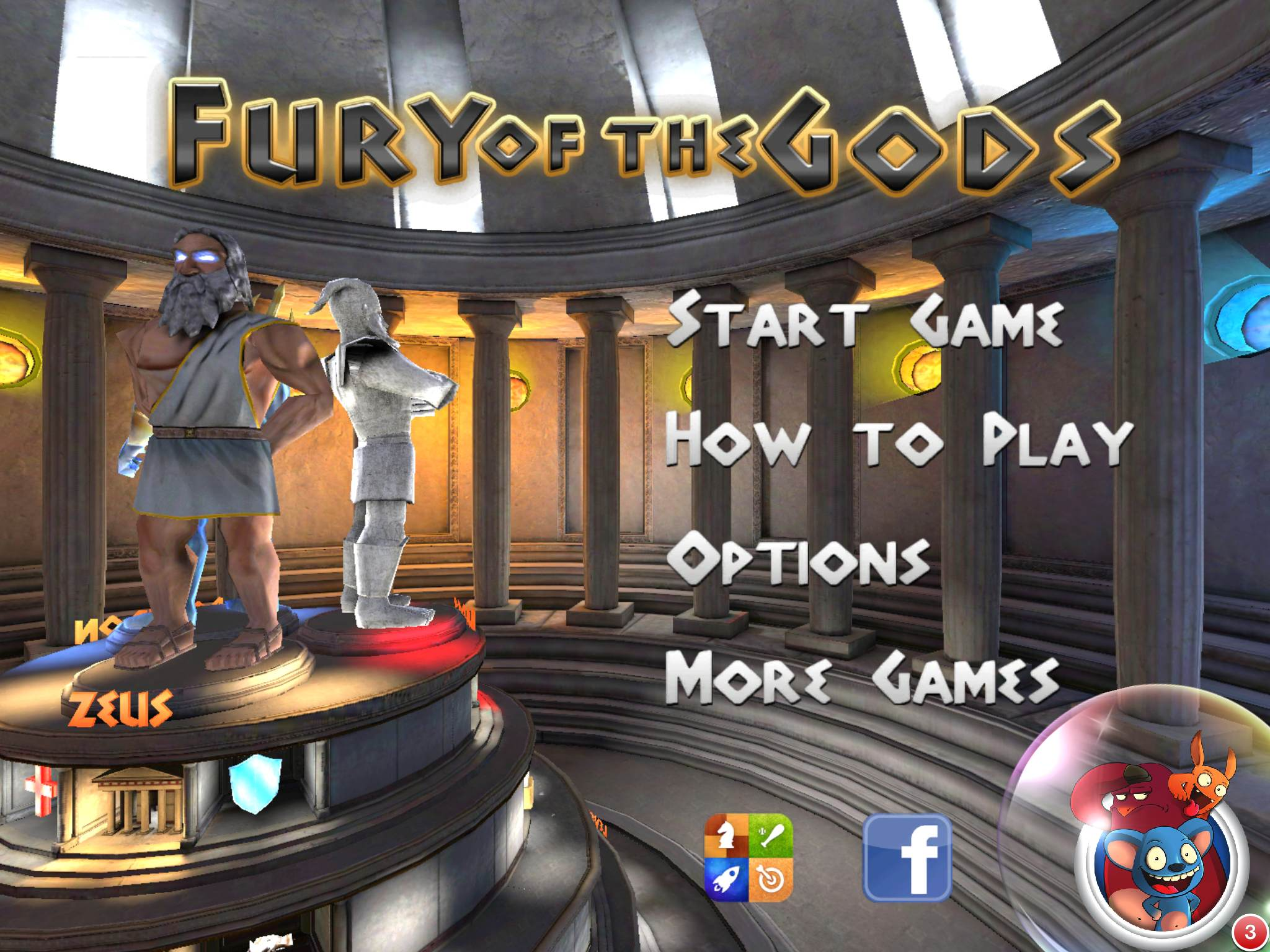 Fury Of The Gods – iPad/iPhone Review