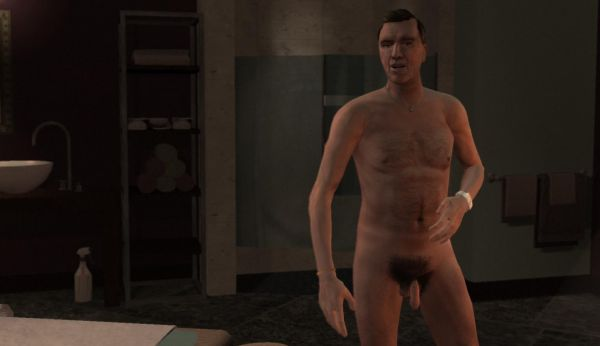 GTA IV Congressman Stubbs Penis Naked The Lost And The Damned