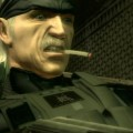 Solid Snake Smoking