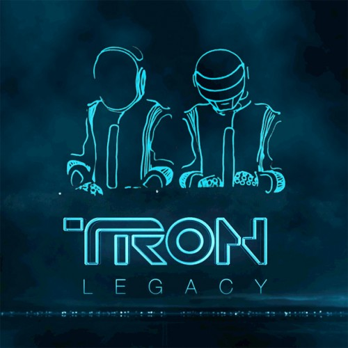TRON Legacy Original Motion Picture Soundtrack Cover