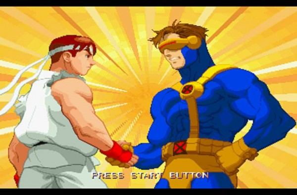 Xmen Vs Street Fighter