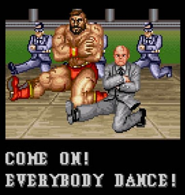 Zangief Dance Gorbachev Street Fighter II 2