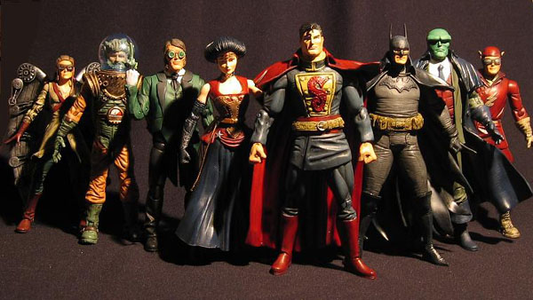 steampunk justice league Batman superman wonderwoman