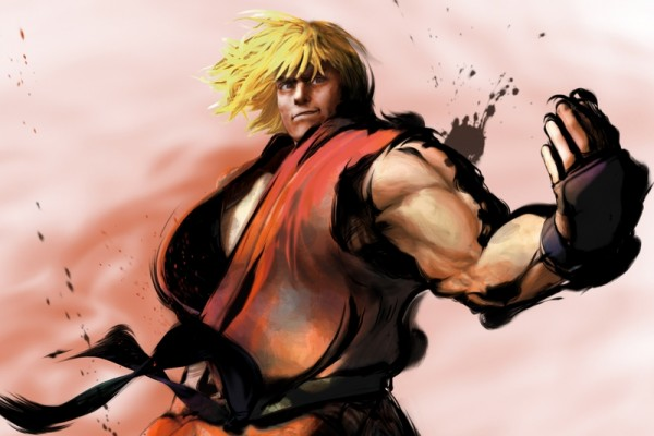 video games street fighter ken masters