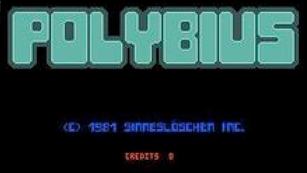 Polybius Arcade Game Screen Urban Legend