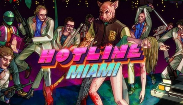 Hotline Miami Screen Indie PC Vita PSN PS3 Title