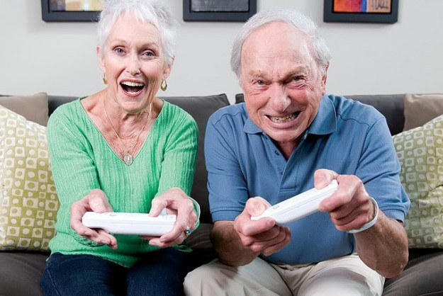 Old Wii Gamers Elderly Wii U Nintendo Casual Market