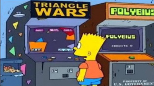 Polybius Arcade Machine Simpsons Reference Urban Legend