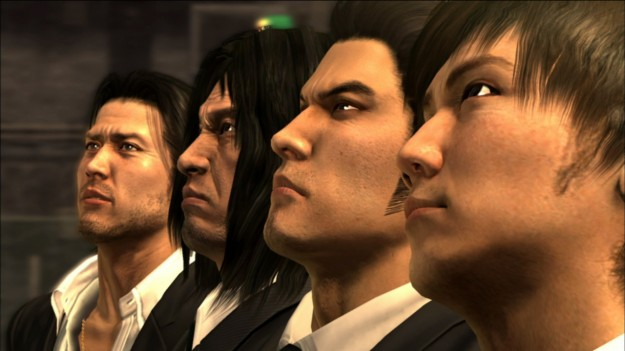 Yakuza 4 Cast Smoking Smoke Cigarette