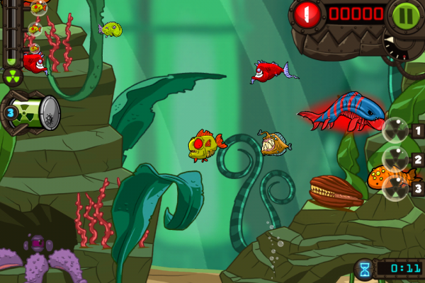 zombie fish tank iphone ipad review