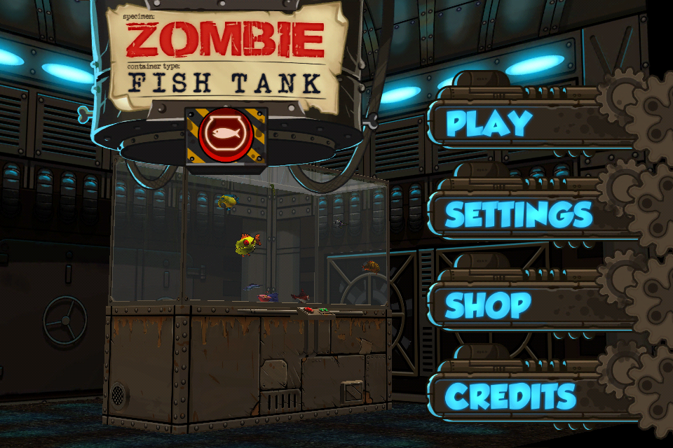 Zombie fish tank iphone ipad review for Zombie fish tank
