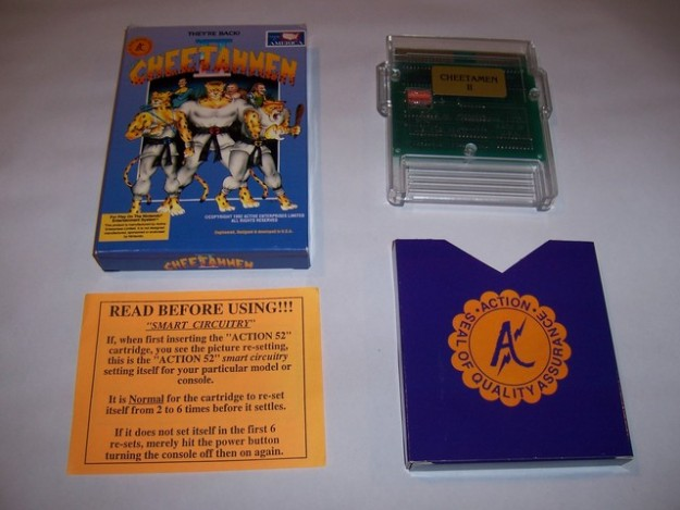 Cheetahmen 2 Case Game Box