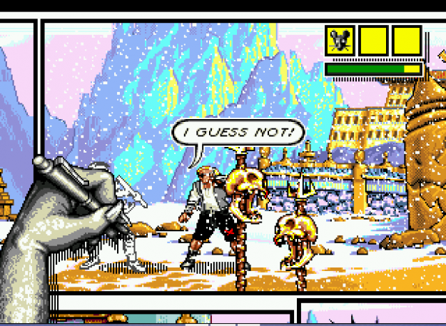 Comix Zone Screen Shot Review