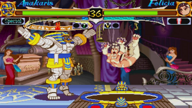 DarkStalkers Game Screenshot