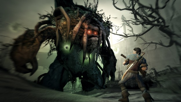 Fable Combat Troll Wood Fight