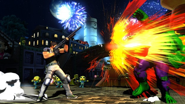 Marvel Vs Capcom Chris Vs Hulk