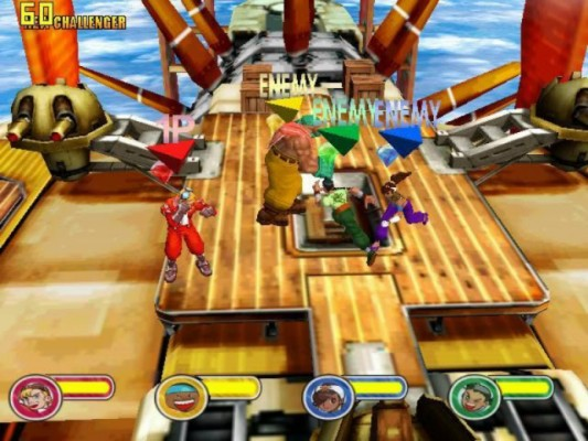 PowerStone Screen Shot Game Dreamcast