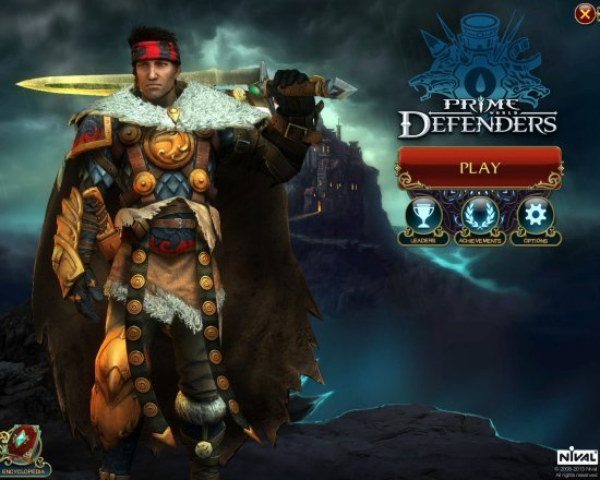 Prime World Defenders title screen cap