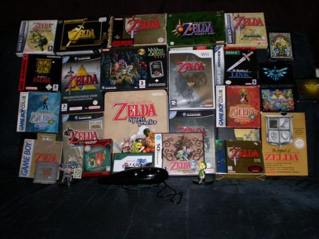 Zelda Game Collection Retro Games Cost Where