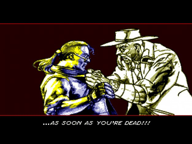 comix zone cut scene art