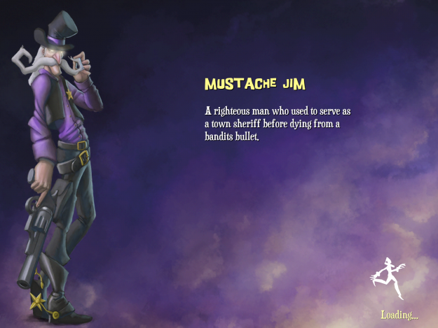 Gloomy Hollow Jim Game Character