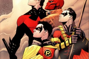 All the Robins Batman Damian Wayne Dick Grayson Jason Todd Tim Drake