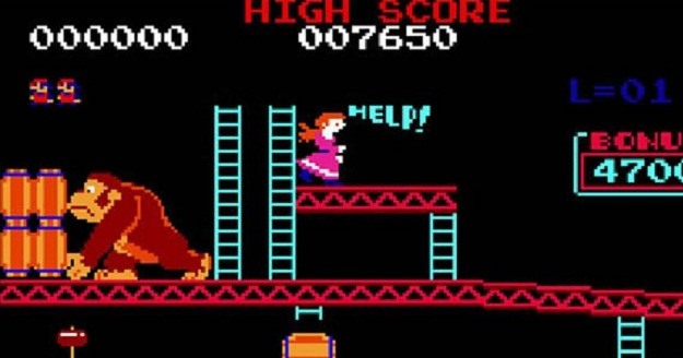 Donkey Kong Princess Peach Damsel In Distress Screenshot