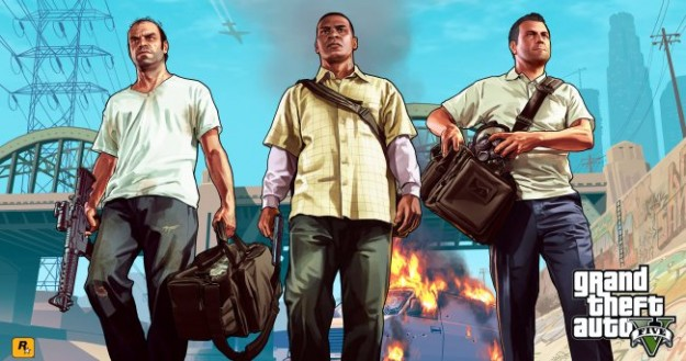 GTA V Multiplayer Co Op 3 players characters