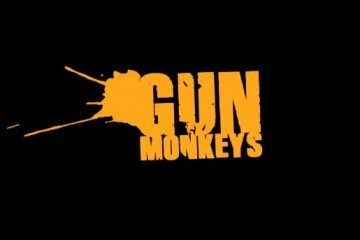 Gun Monkeys Title Screen