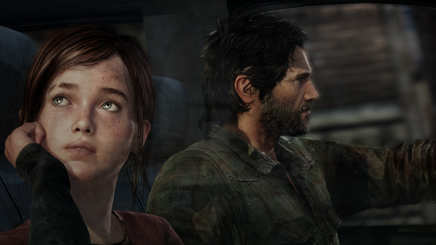 Last of Us Ellie Joel Car Wallpaper Screen HD Hi Res