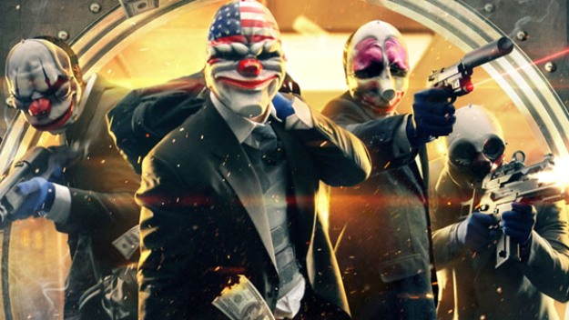 Payday 2 Characters Screen Masks