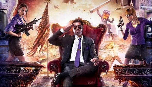 Saints Row IV Art President Game Screen Banned