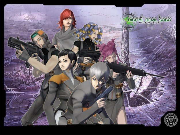 Shin Megami Tensei: Digital Devil Saga HD Screen Wallpaper Game