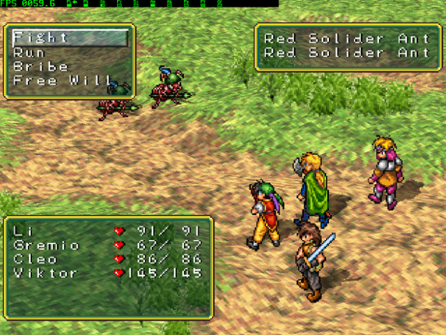 Suikoden Screenshot Game