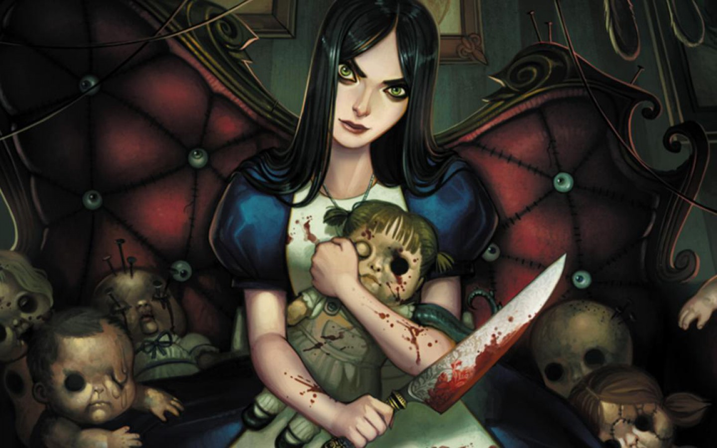 Alice Madness Returns Wallpaper Alice In Wonderland Goth ...