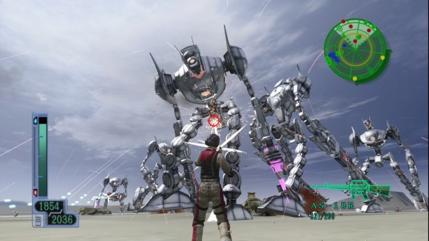 Earth Defense Force 2017 Vita PSVita Playstation Gameplay