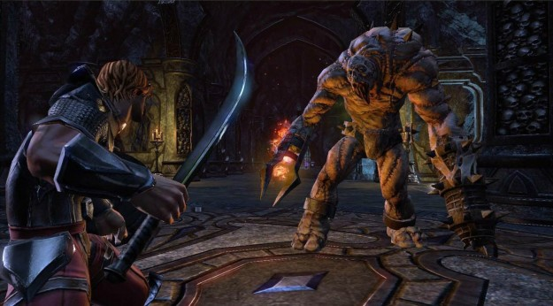 Elder Scrolls Online MMO Game PC Consoles SCreen Gameplay