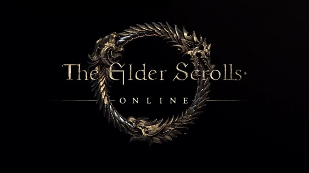 Elder Scrolls Online MMO Game PC Consoles SCreen Logo title
