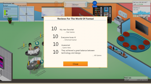 Game Dev Tycoon Logo Screen Review 3