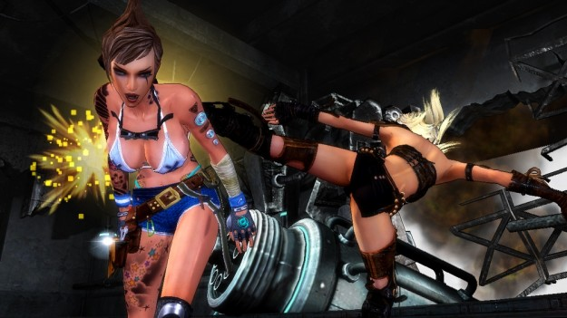 Girl Fight PSN XBLA PS3 Xbox 360 Screens Review 3
